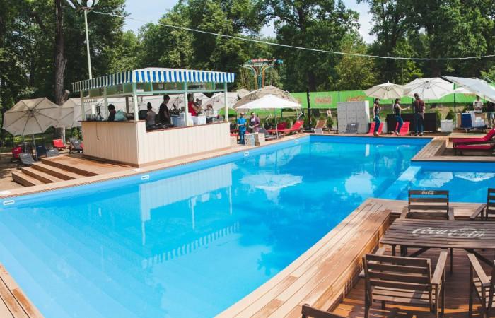 Открытый бассейн в Уфе